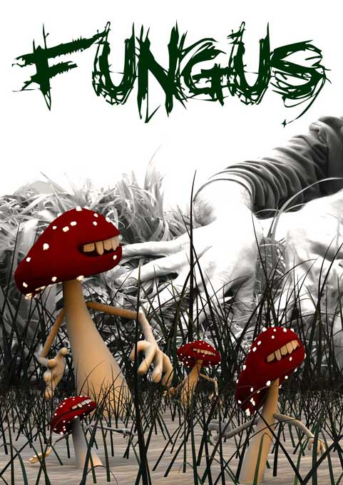 Poster Design For Fungus,Falmouth